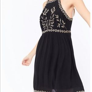 Urban Outfitters embellished westerly dress